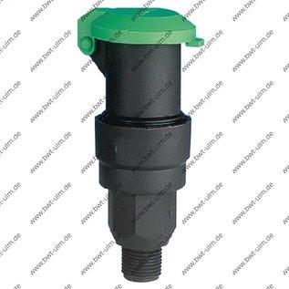 """Kunststoff Wassersteckdose  3/4"""" od. 1"""" Aussengewinde"""