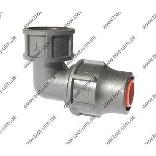PP Fitting System Lock, PE Rohr PN6, 16 + 20 mm, Winkel Lock x IG