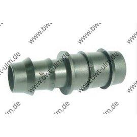 3/10 x Steckverbinder Kupplung 16 oder 20 mm für PE-Rohr