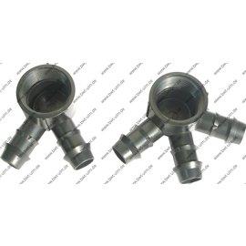 """Steckverbinder Verteiler, Multikupplung 1"""" IG, für PE Rohr 20 mm, mit 2, 3, oder 4 Abgängen"""