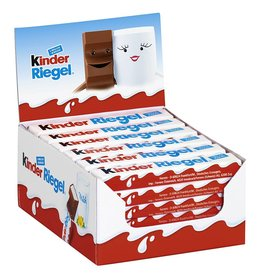 Kinder Riegel Einzelriegel, 36er Pack (36 x 1 Riegel)