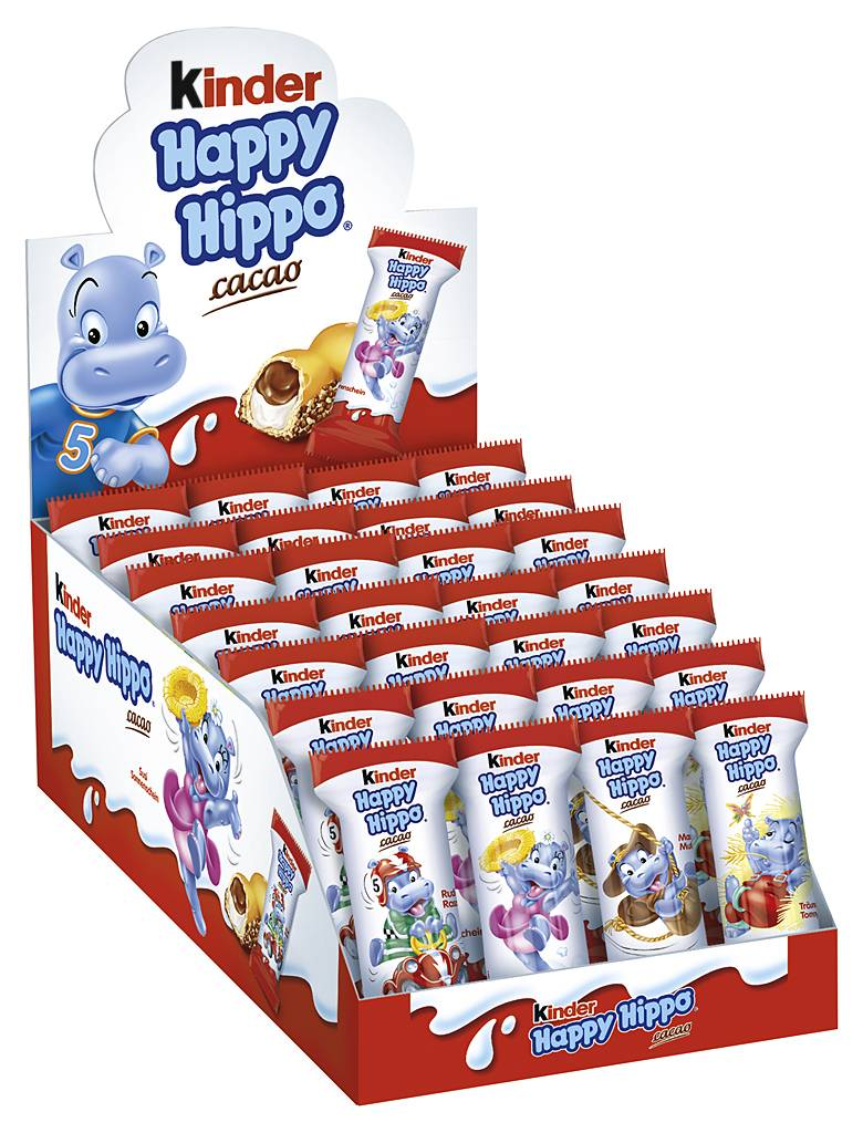 Kinder Happy Hippo Cacao 28er Pack