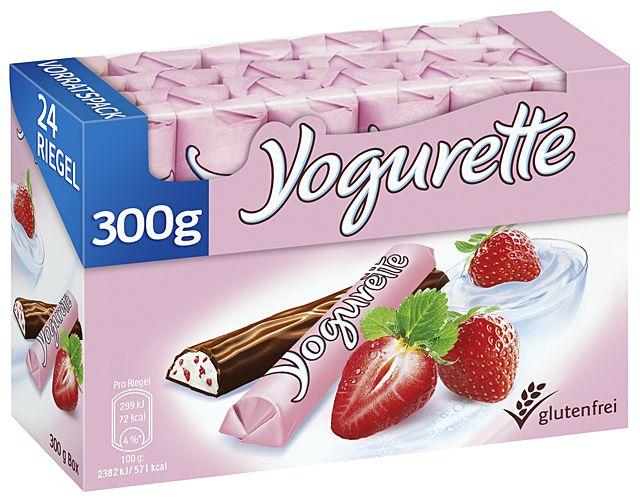 Yogurette Erdbeere 8 x 300g Multipack