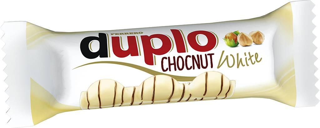 Duplo Chocnut White Einzelriegel 24er Pack