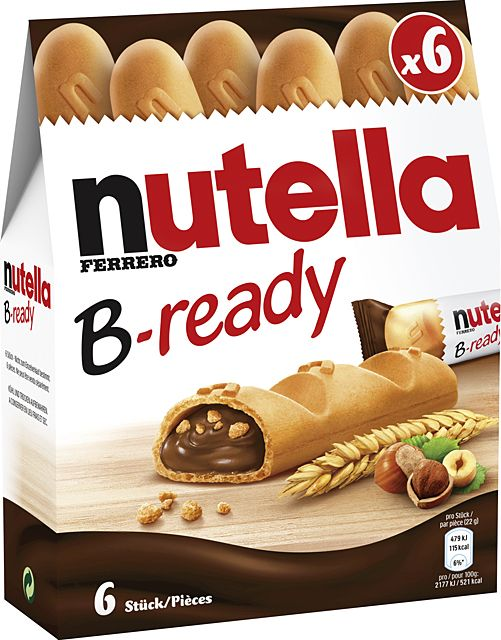Nutella B-ready 16 x 6er Multipack