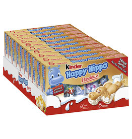 Kinder Happy Hippo Haselnuss 10 x  5er Pack