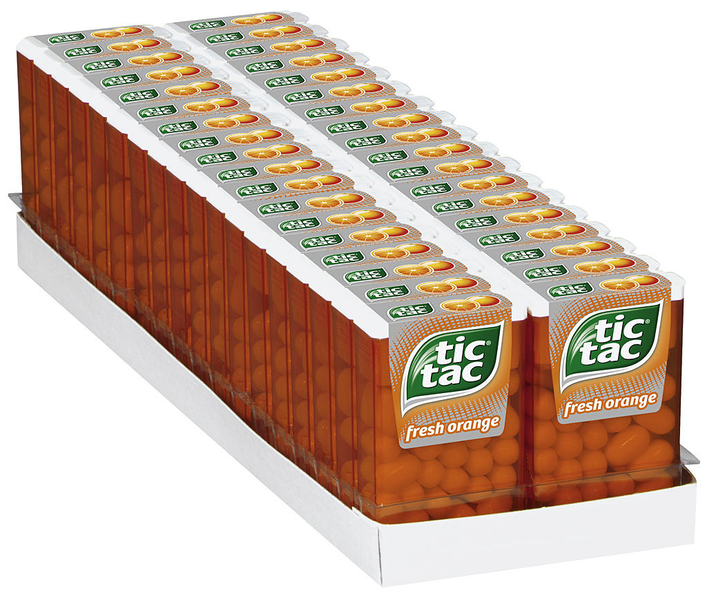 tic tac fresh orange 36 x 18g