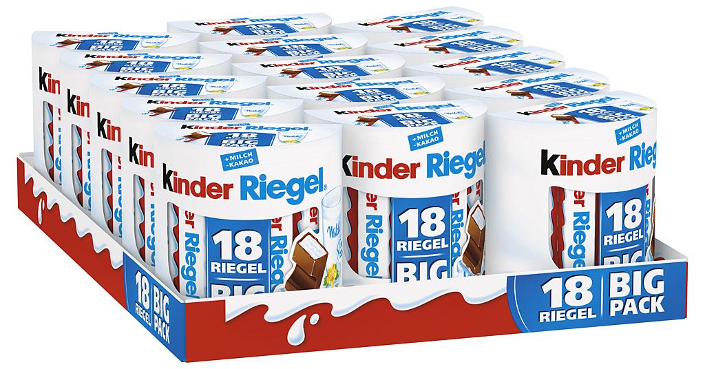 Kinder Riegel 15 x 18er Big Pack