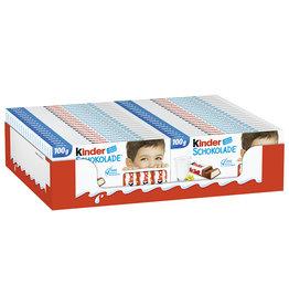 Kinder Schokolade 40 x 100g Tafel