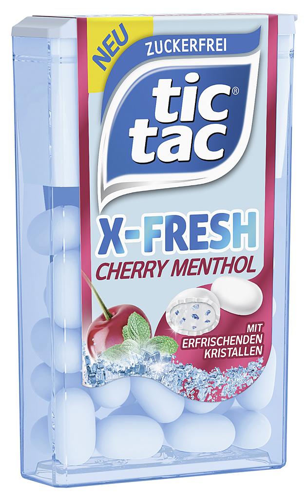 tic tac X-FRESH CHERRY MENTHOL 24 x 16,4g