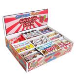 CAPTAIN PLAY  Snack Box mit 80 Schokoriegeln in 14 verschiedenen Sorten