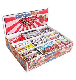 CAPTAIN PLAY  Snack Box mit 80 Schokoriegeln