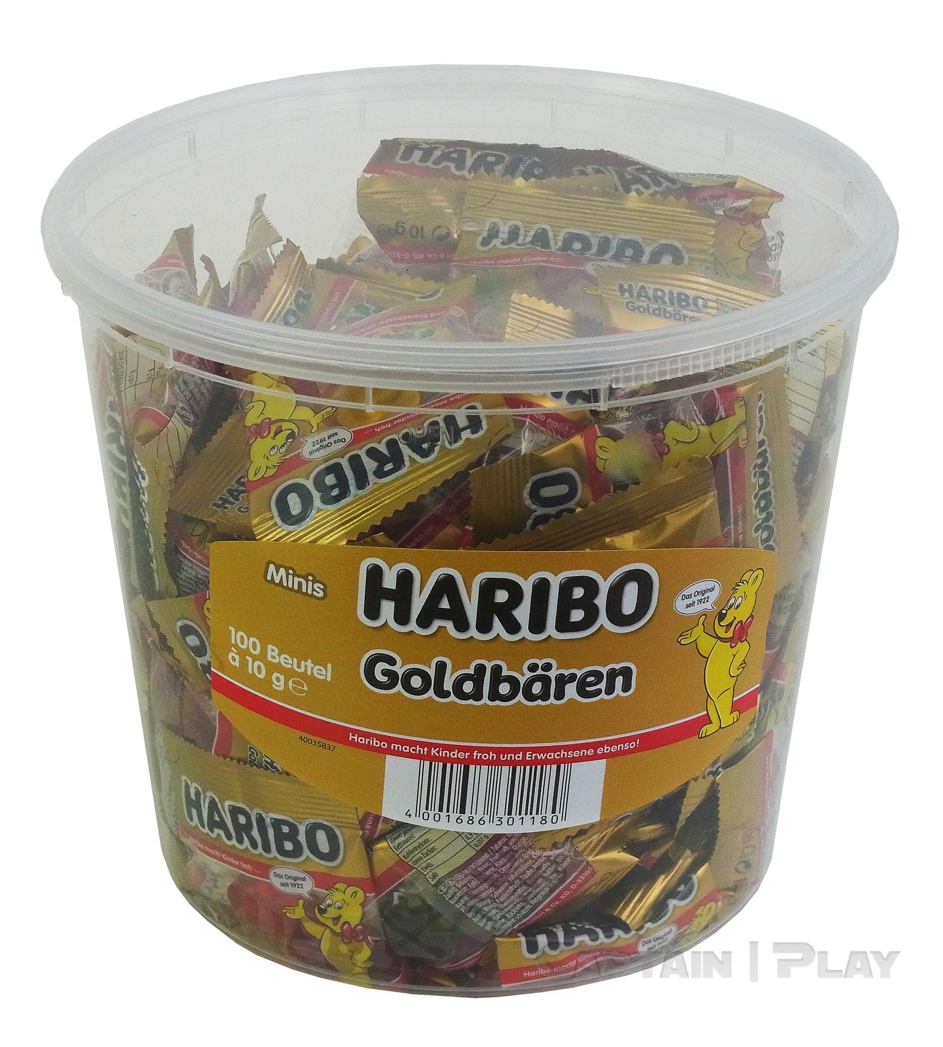 Haribo Goldbären 100 x 10g Mini Beutel