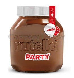 Nutella 3kg Party Glas
