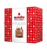 Nutella 3kg Party Glas aus echtem Glas, Lieferung in Versandverpackung