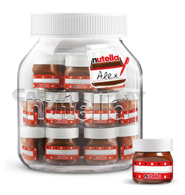 Nutella 21 x 30g Friends Edition Glas