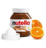 Nutella  825g Glas mit Saftpresse, Lieferung in Versandverpackung