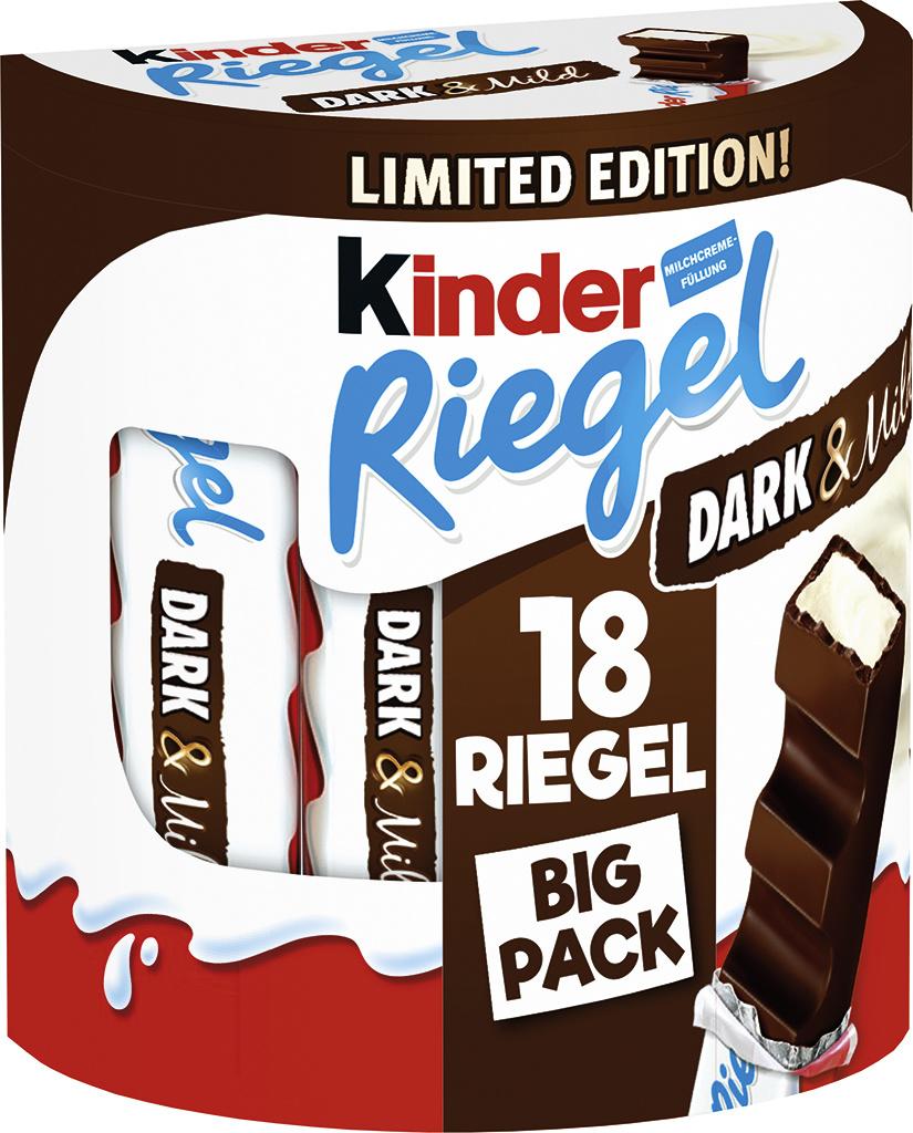 Kinder Riegel Dark & Mild 15 x 18er Multipack