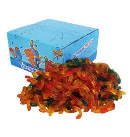 CAPTAIN PLAY Fruchtgummi Schlangen 1kg