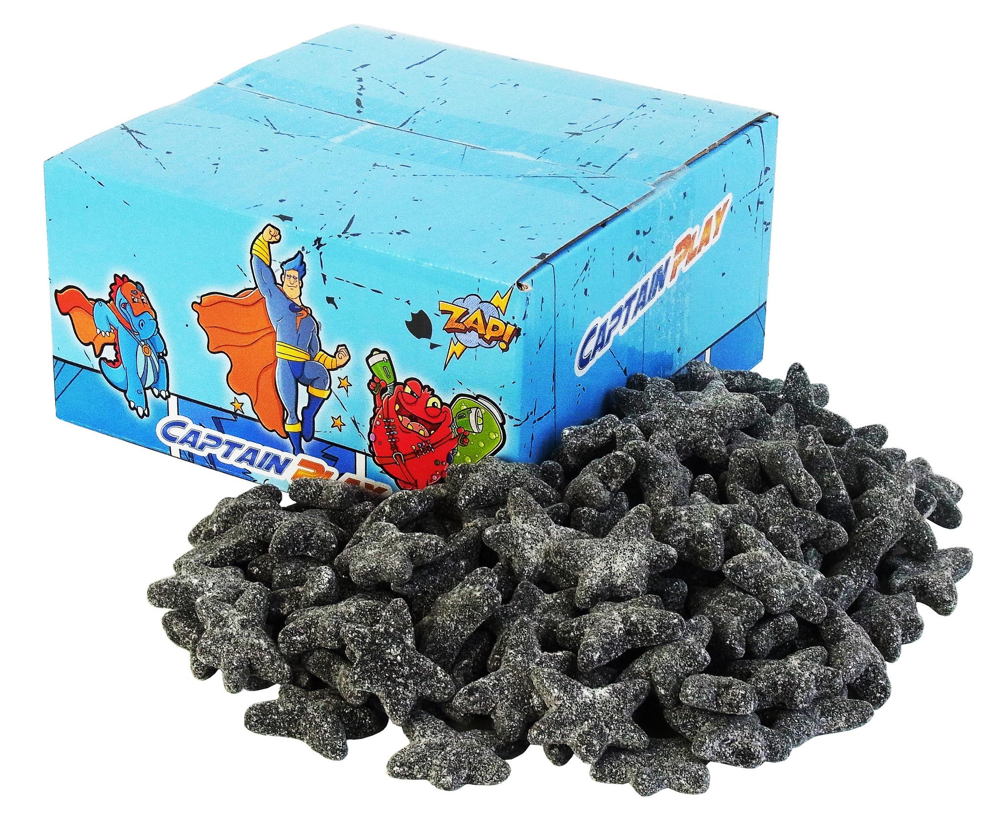 CAPTAIN PLAY Lakritz Seesterne für Erwachsene - 2kg