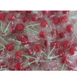 CAPTAIN PLAY Kirsch Lollis, Karneval Wurfmaterial, 600 Stück in Einzelverpackung, 8,1kg, Süßigkeiten Großpackungen
