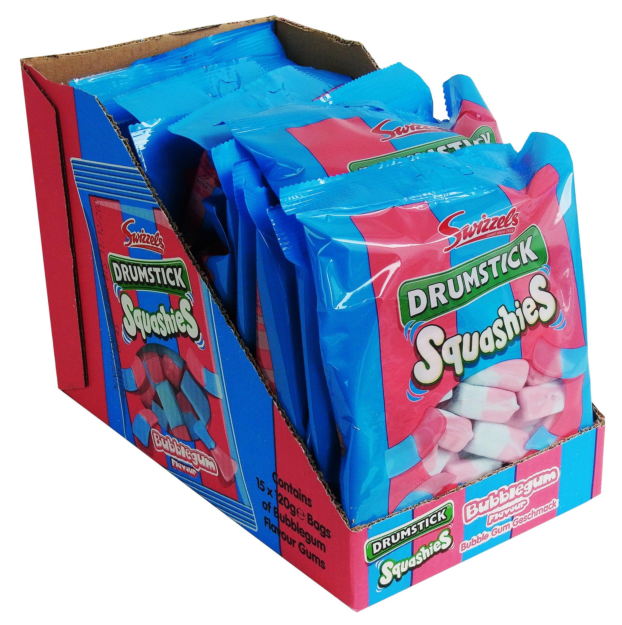 Swizzels Drumstick Squashies Bubblegum 15 x 120g
