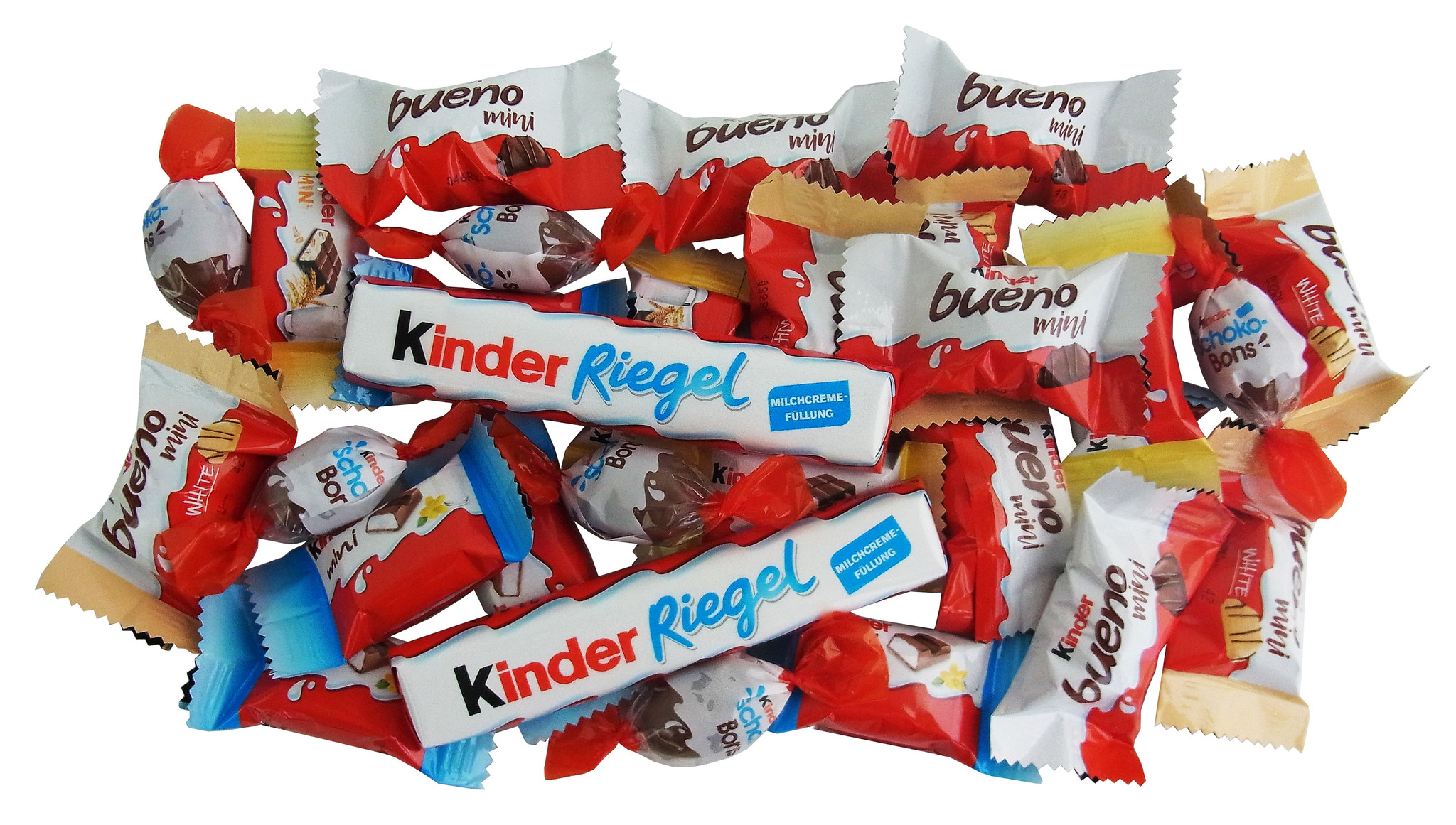 Schultüte Einhorn Design 35cm gefüllt mit Ferrero Kinder Spezialitäten, Schulanfang Geschenk mit 204g
