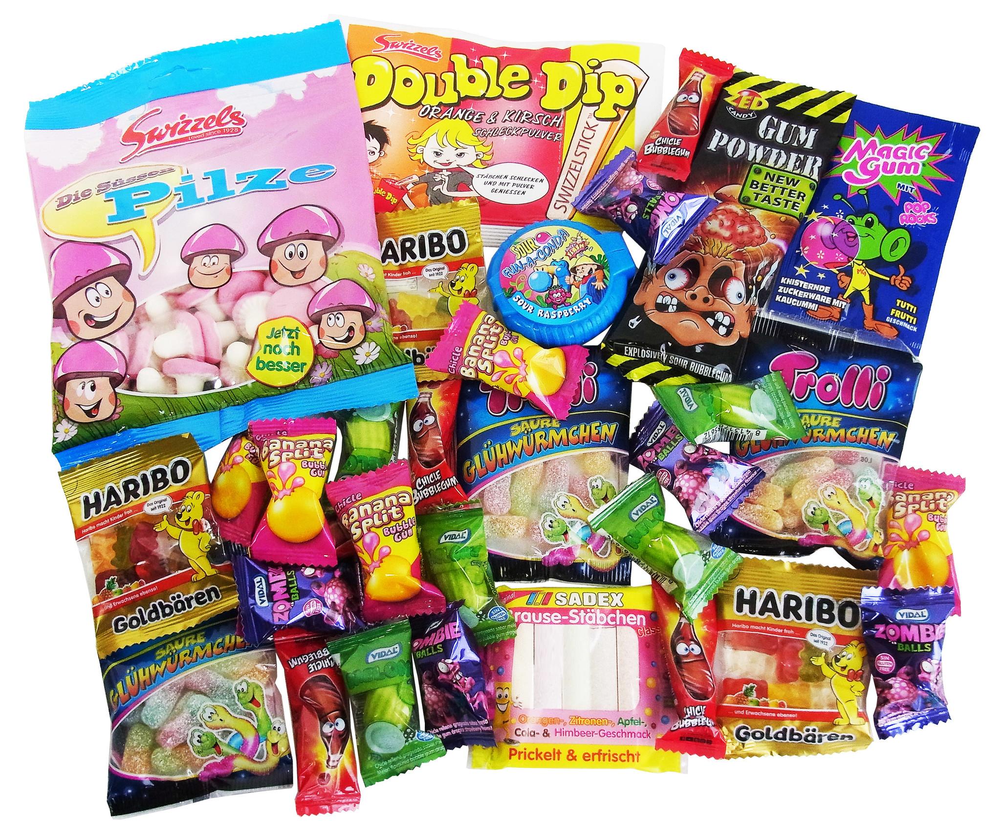 CAPTAIN PLAY | Füllung Schultüte Süßigkeiten | ohne Schokolade | 32-teilig