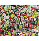 CAPTAIN PLAY Fruchtkaramellen Großpackung, 900g Fruchtkaramellen Kaubonbons im Party Bucket
