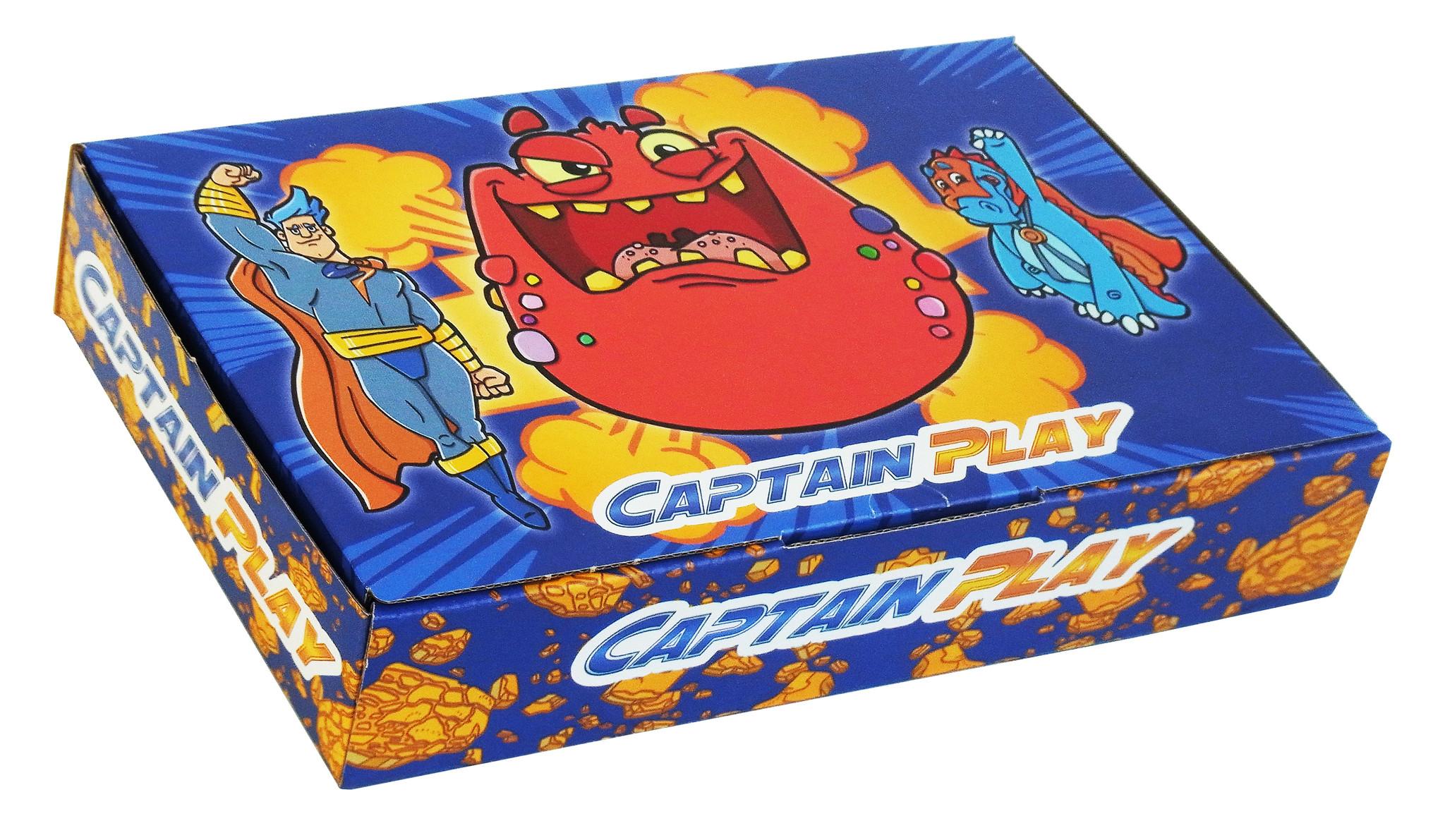 CAPTAIN PLAY Kirsch Cola Süßigkeiten 1kg