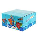 CAPTAIN PLAY Fruchtgummi Großpackung, Saure Regenwürmer, Saures Fruchtgummi, 2kg