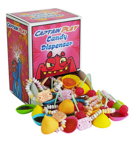 CAPTAIN PLAY Retro Süßigkeiten Dispenser