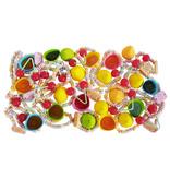 CAPTAIN PLAY | Retro Süßigkeiten Candy Dispenser| Retro Süßigkeiten Box mit 600g Nostalgie-Süßigkeiten in Einzelverpackung
