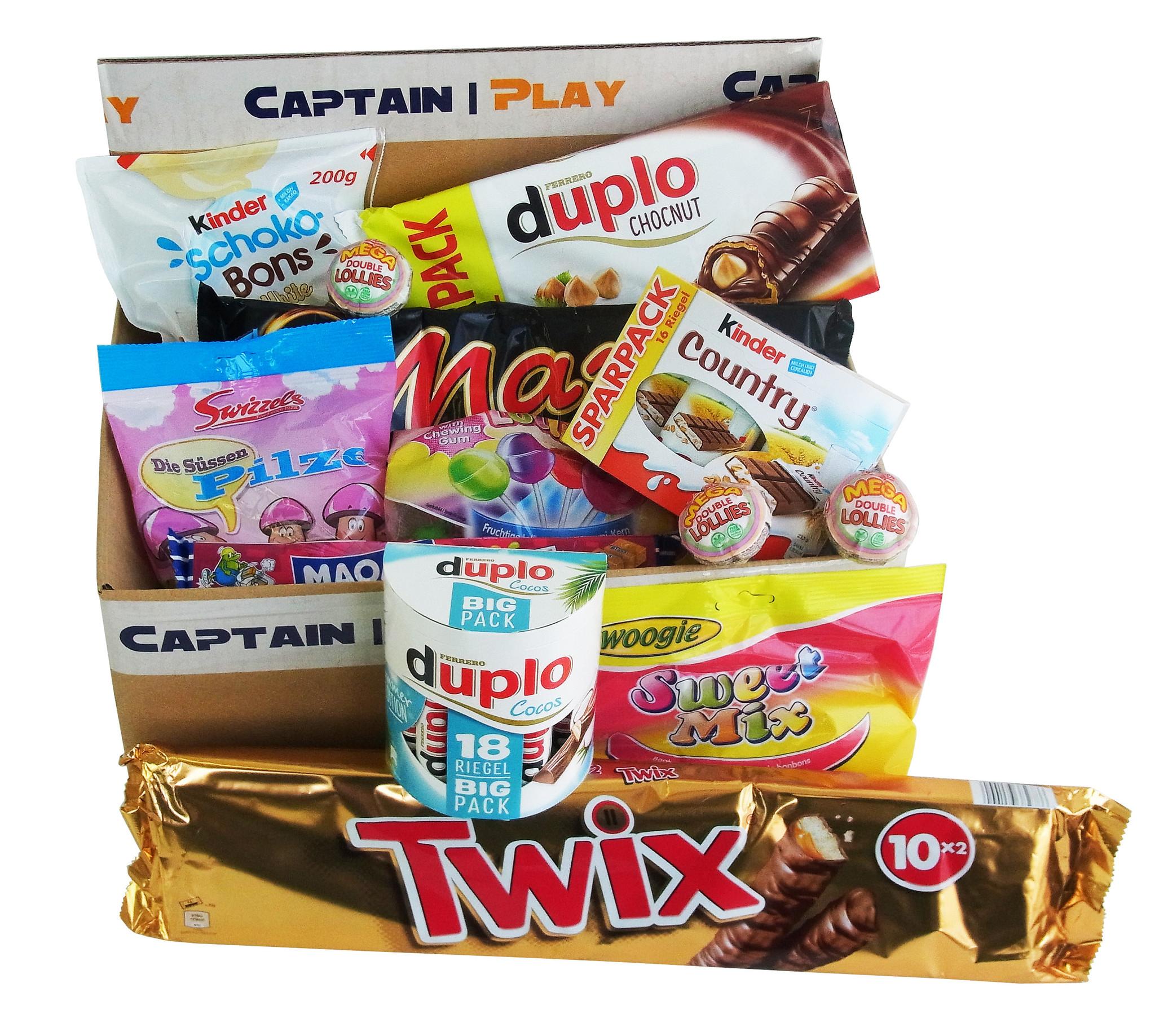 Überraschungspaket Süßigkeiten Sonderposten