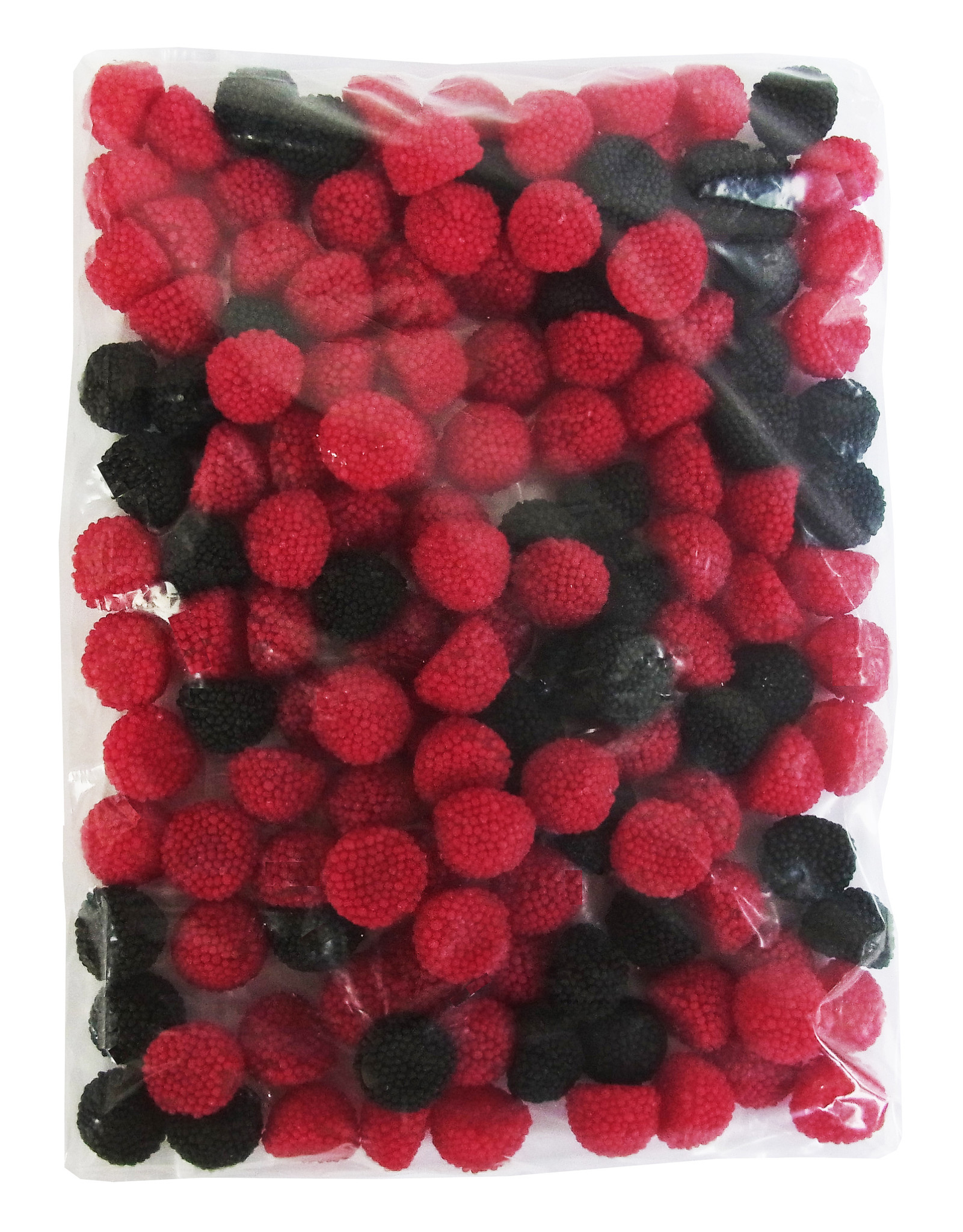CAPTAIN PLAY Brom- & Himbeeren Gelee - Fruchtgummi 1kg