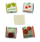 CAPTAIN PLAY Fruchtkaramellen 5kg, Karneval Wurfmaterial, Fruchtbonbons in Einzelverpackung, Süßigkeiten Großpackungen