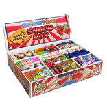CAPTAIN PLAY | Süßigkeiten Box ohne Schokolade mit 14 verschiedenen Sorten | 2 kg Süßigkeiten Mix
