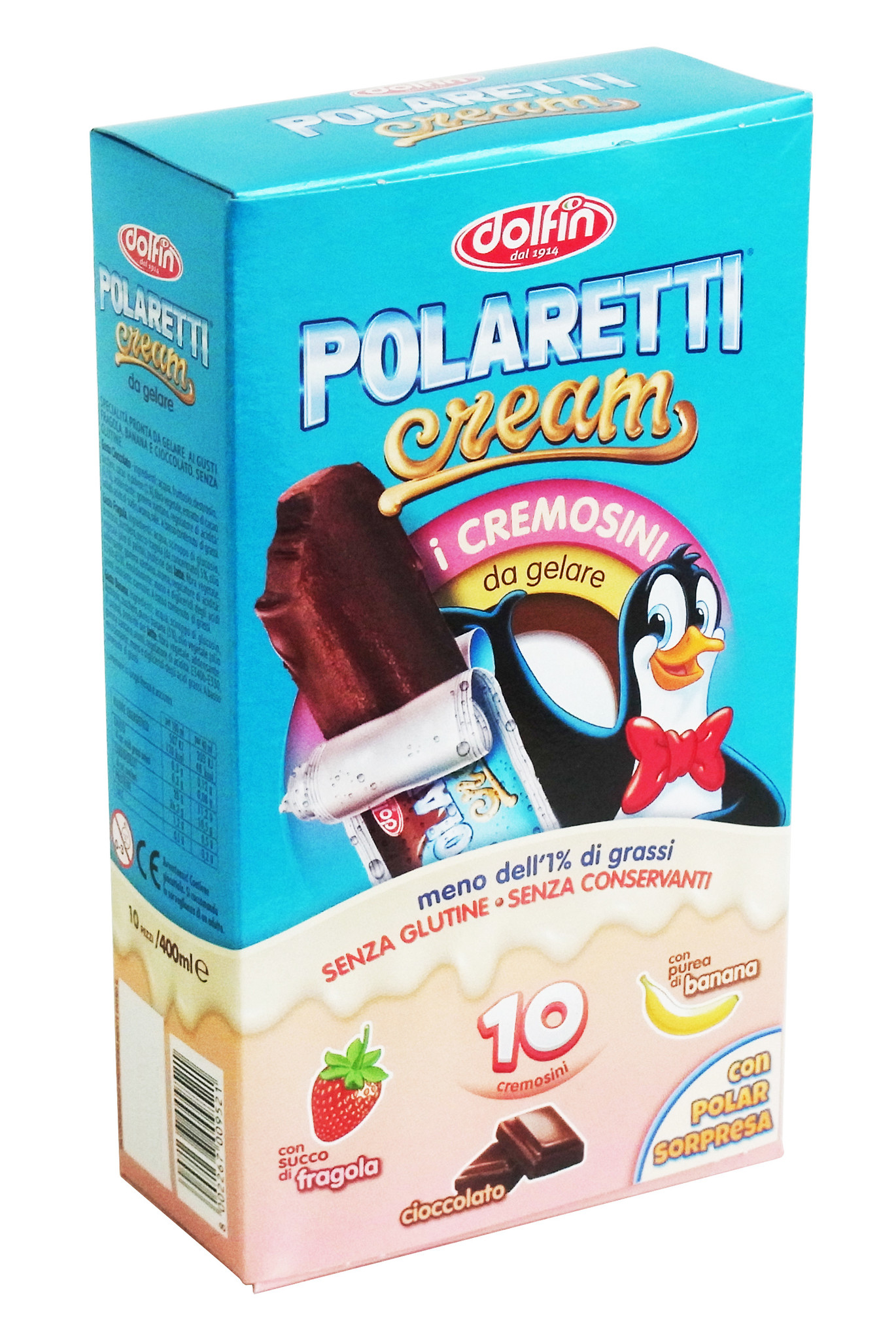 Sommer Pack Cream- & Wassereis Mix 50 x 40ml