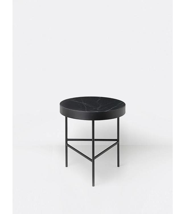 Ferm Living Marble Table - Black Marquina - Medium