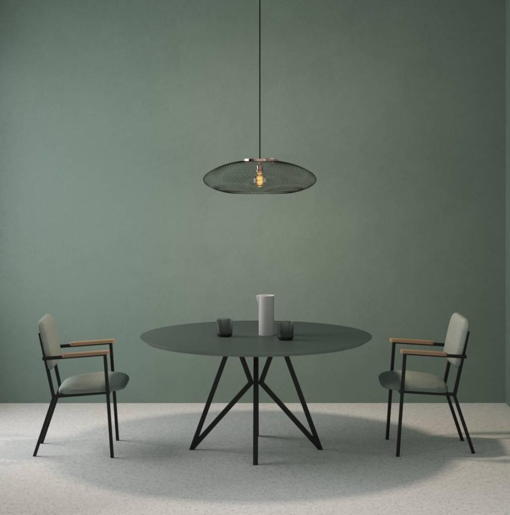 Design Ronde Tafel.Hpl Ronde Tafel Studio Henk Driedeco