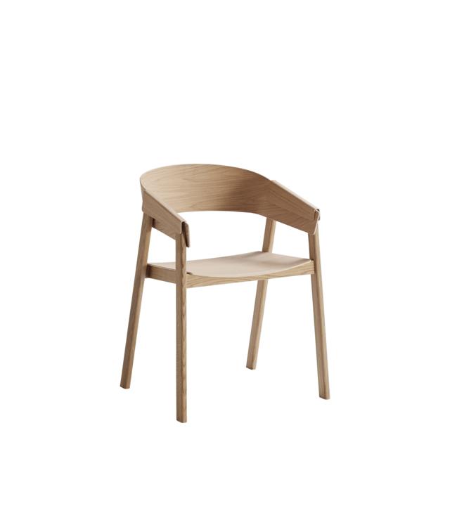 Muuto Cover chair - Wooden seat