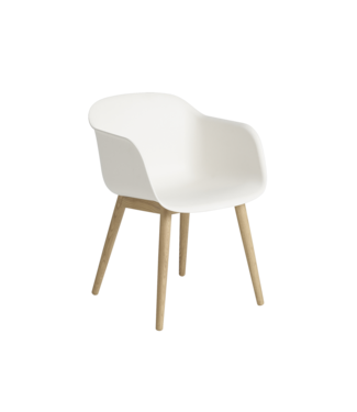 Muuto Fiber Armchair - Wood base