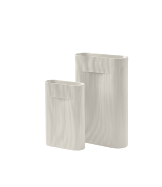Muuto Ridge Vase - Off-White