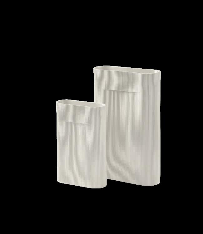 Muuto Ridge Vase - Off-White