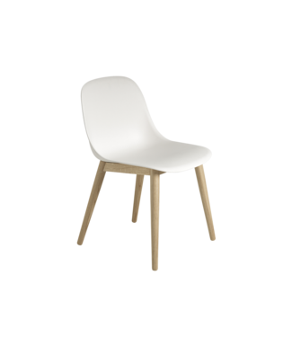 Muuto Fiber Side Chair - Wooden base