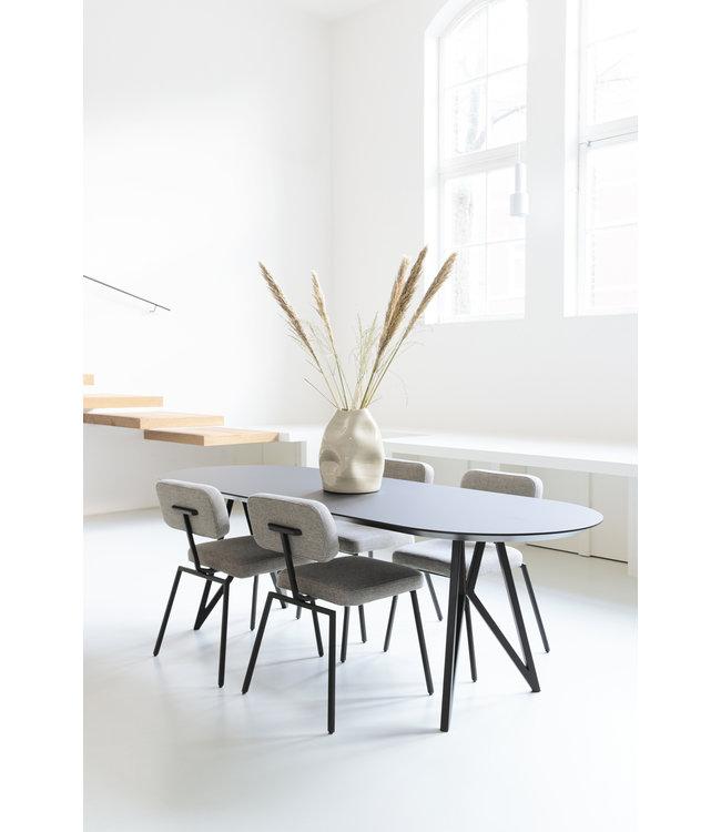 Studio Henk  Eetkamertafel plat ovaal - HPL