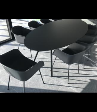 Studio Henk  HPL Fenix ovale tafel