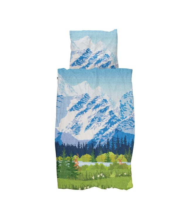 Snurk  Across the alps - dekbedovertrek
