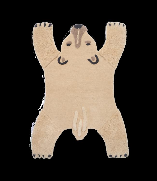 Ferm Living Polar bear - Tufted rug