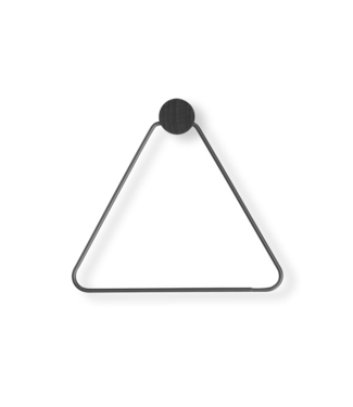 Ferm Living Toiletrolhouder driehoek - Zwart